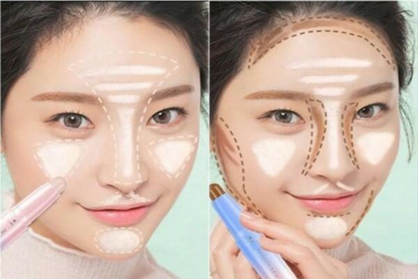 Cách trang điểm cho khuôn mặt tròn