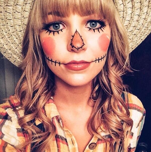 Những Cách Trang Điểm Halloween Tại Nhà Siêu Thú Vị 6
