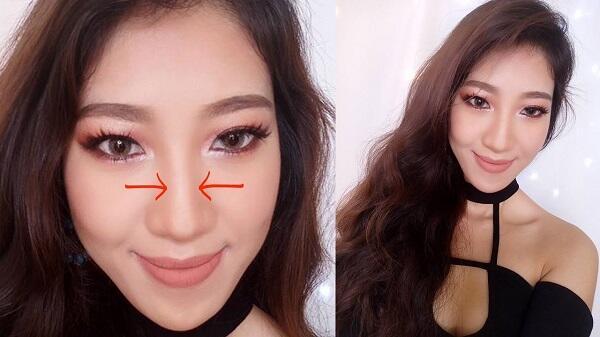 Cách trang điểm mũi